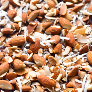 Gluten-Free Dairy-Free Almond Joy Bark | www.grainchanger.com