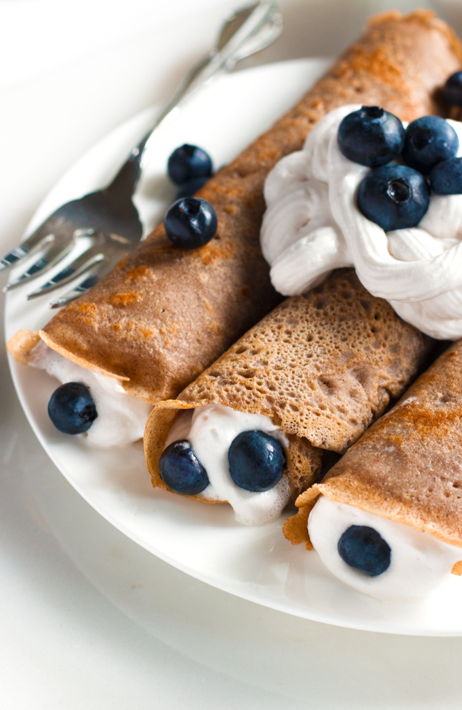 Gluten-Free Buckwheat Crepes | www.grainchanger.com