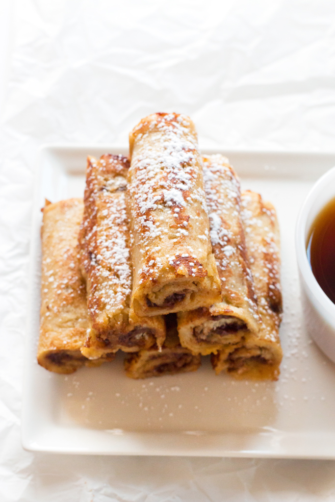 Gluten-Free French Toast Roll Ups | www.grainchanger.com