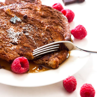 Gluten-Free Mocha French Toast