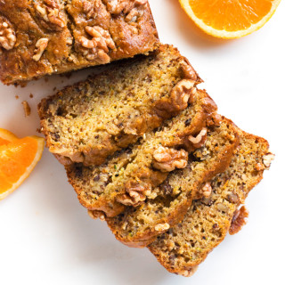 Gluten-Free Orange Walnut Zucchini Bread | www.grainchanger.com