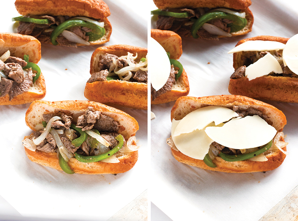 Gluten-Free Philly Cheesesteaks | www.grainchanger.com