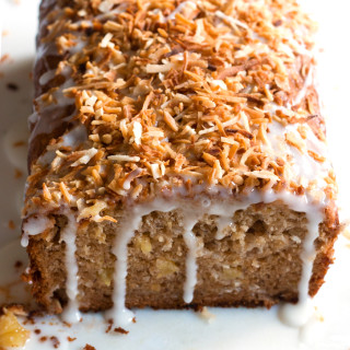 Gluten-Free Pineapple Coconut Banana Bread