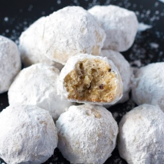 Gluten-Free Russian Tea Cookies (Snowballs)