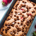 Gluten-Free Strawberry Chocolate Chip Bread | www.grainchanger.com