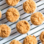 Healthy Toddler Mini Muffins | www.grainchanger.com