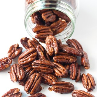 Peppered Candied Pecans