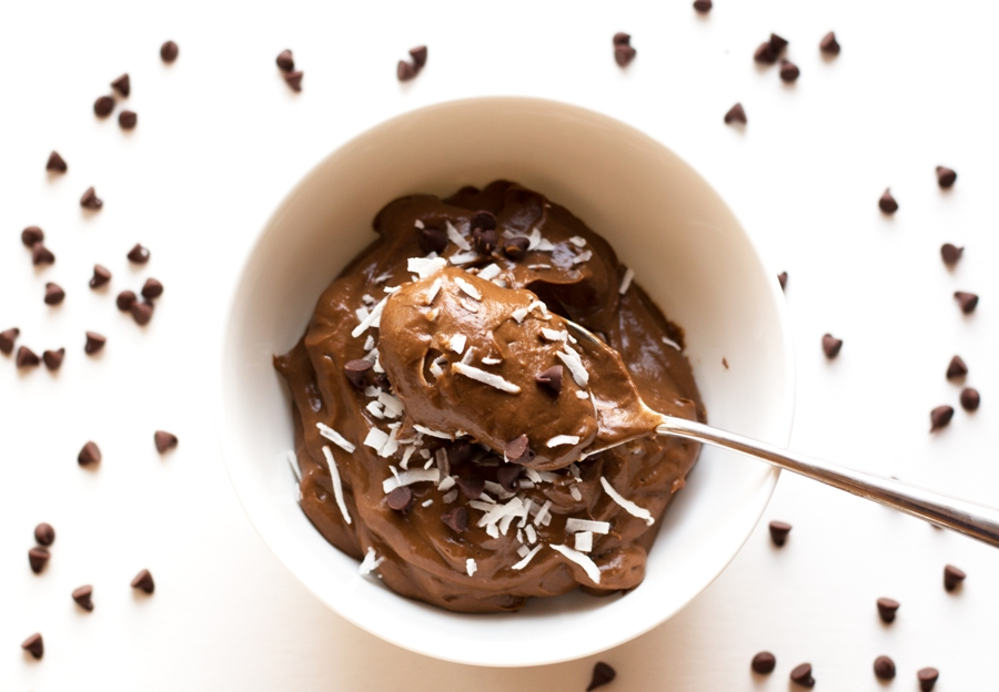 "This chocolate avocado pudding is rich, creamy, and even BETTER than the ""original"" 
