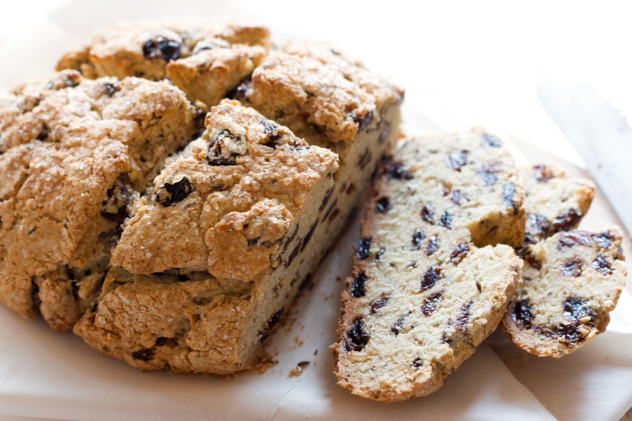 Gluten-Free Irish Soda Bread | grainchanger.com