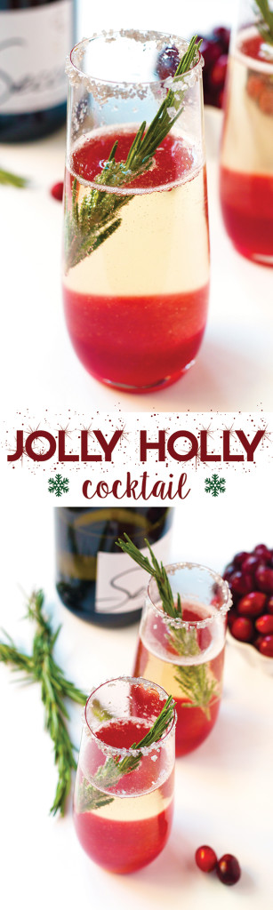 Jolly Holly Cocktail - making this for my Christmas party!!!