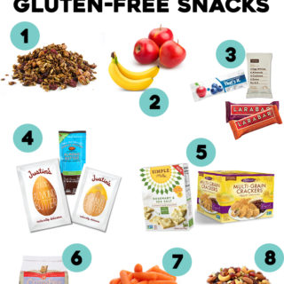 Favorite On-the-Go Gluten-Free Snacks