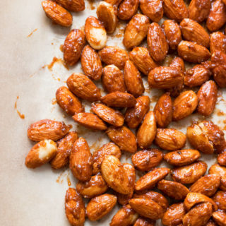 Pumpkin Spice Candied Almonds