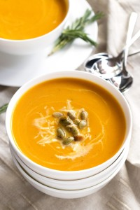 Gluten-Free Butternut Squash Soup - so easy and beyond delicious   www.grainchanger.com