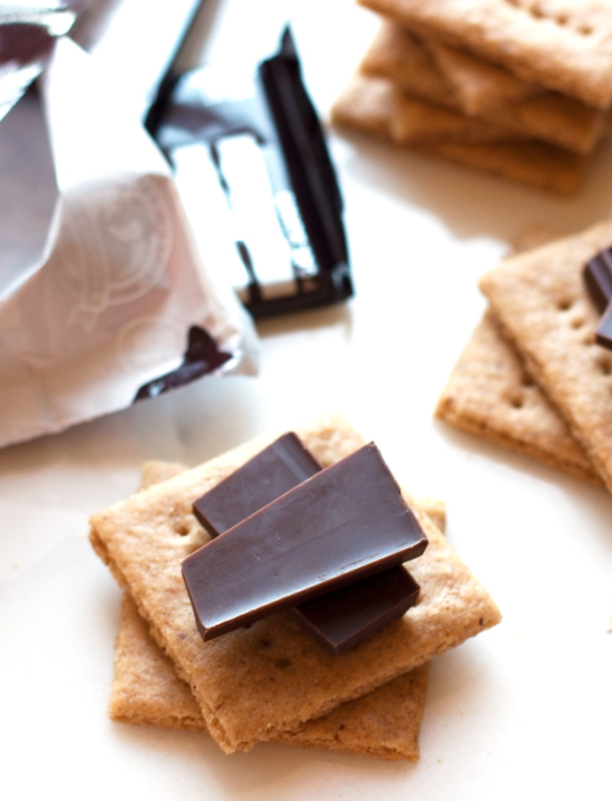 "Gluten-Free Graham Crackers - they taste EXACTLY like the ""real"" thing! Perfect for s'mores 
