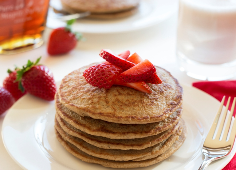 Gluten free overnight oat pancakes grain changer gluten free overnight oat pancakes quick easy melt in your ccuart Gallery