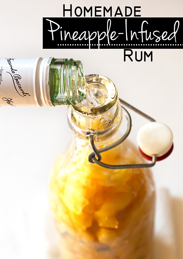 Homemade Pineapple-Infused Rum | www.grainchanger.com