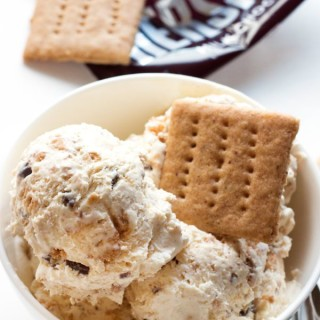 No-Churn S'more Ice Cream