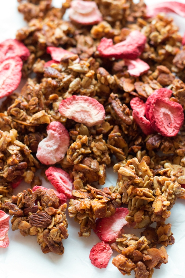 Strawberry Almond Granola - Grain Changer