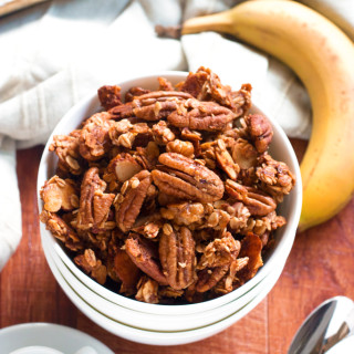 Banana Bread Granola | www.grainchanger.com