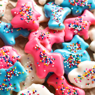 Gluten-Free Frosted Animal Cookies