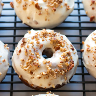 Gluten-Free Carrot Cake Donuts