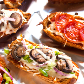 Gluten-Free French Bread Pizzas