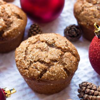 Gluten-Free Gingerbread Muffins | www.grainchanger.com