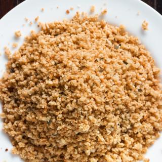 Homemade Gluten-Free Bread Crumbs | www.grainchanger.com