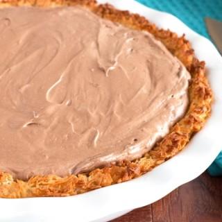 Gluten-Free Nutella Macaroon Pie