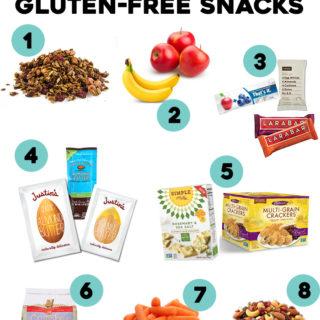 Favorite On-the-Go Gluten-Free Snacks | www.grainchanger.com